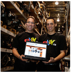 Seventy-year-old Quebec-based automotive parts retailer, Lecavalier Auto Parts has been named eBay Canada's 2011 Newcomer of the Year. Photo: ebay Canada