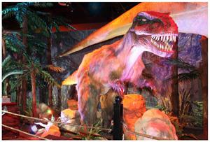 Adolescent Tyrannosaurus Rex
