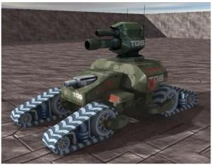 Valkyrie battle tank