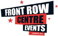 front row centre events