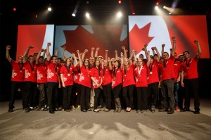 SKILLS/COMPETENCES CANADA - Top Talent Awarded