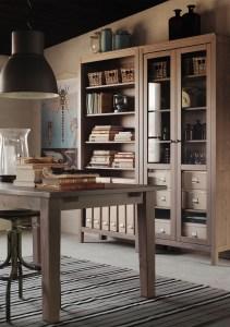 HEMNES glass door cabinet. $395 (Image: IKEA Canada)