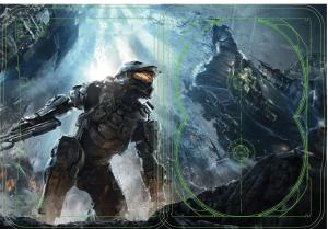 Halo 4 SteelBook Inside