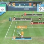 WiiU Wii Sports Club tennis