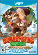 Donkey Kong Country Tropical Freeze Wii U Box Art
