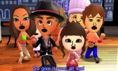 3DS TomodachiLife Miis Singing