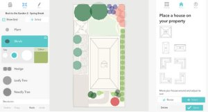 garden sketch screenshot