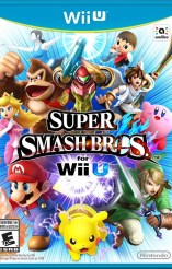 Super Smash Bros Wii U Box Art
