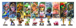 Wii U Mario Kart 8 Mii Racing Suits