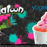 Splatoon at Yogen Fruz