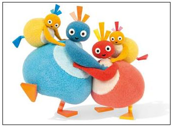 The new preschool series Twirlywoos debuts this Fall on Family Jr. in Canada