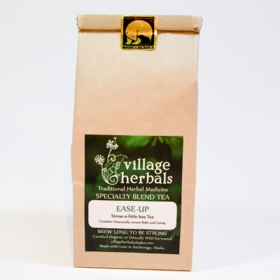 village herbals loose leaf tea ease up