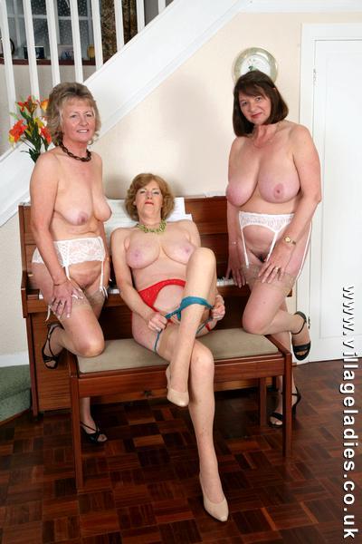 British village ladies
