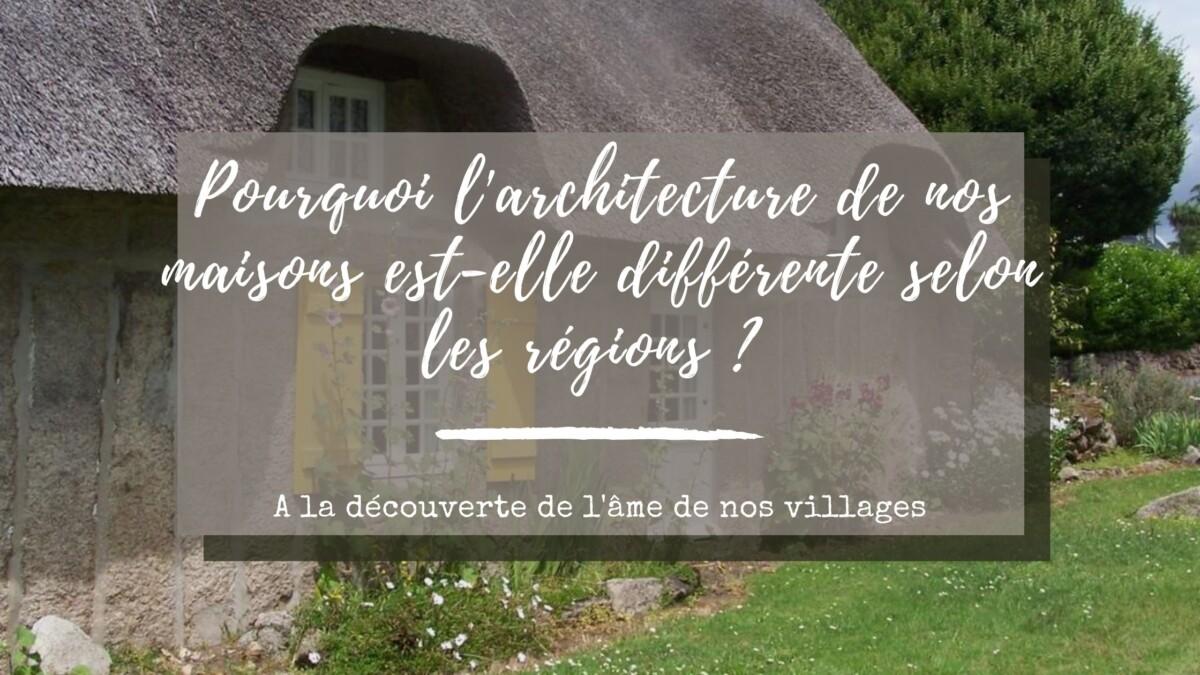 villages en france architecture