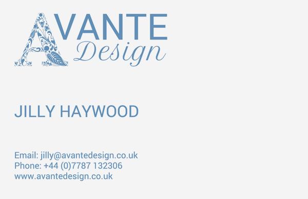 Avante Design Business Card Design