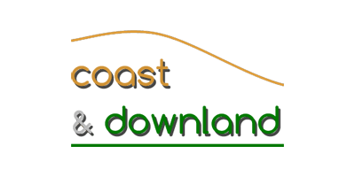 Coast and Downland Logo Design