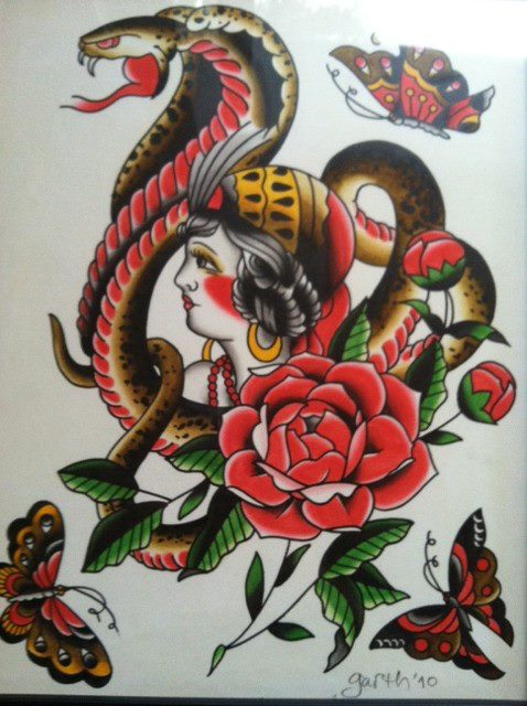 Tattoo Flash Art Gallery Portfolio Village Tattoo Romeo