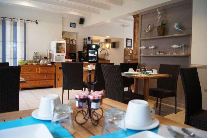 Petit Déjeuner Hôtel Ile de Ré