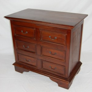 Java 6 Drawer Chest of Drawers - Medium
