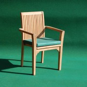 Teak Aulia Stacking Chair