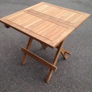 Teak Square Picnic Table