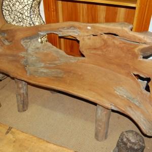 Large Teak Root Bench