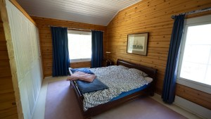 Päämakuuhuone. Master bedroom.