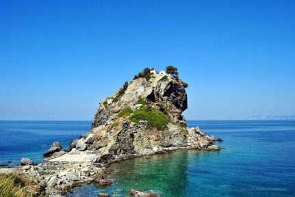 The chapel of St. Jon in Skopelos
