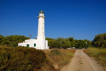 Possidi Lighthouse, an iconic building in the region