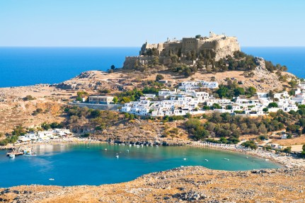 The Ancient city of Lindos, Rhodes