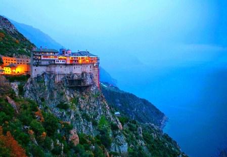 Mount Athos in Chalkidiki