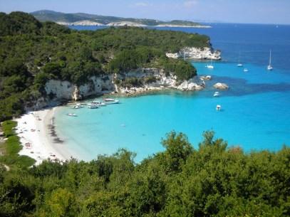 Amazing beach in Paxi