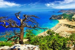 Tsampika beach, Rhodes