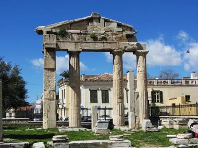 Roman agora, Plaka