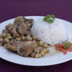 Porc aux Pois de Bambara