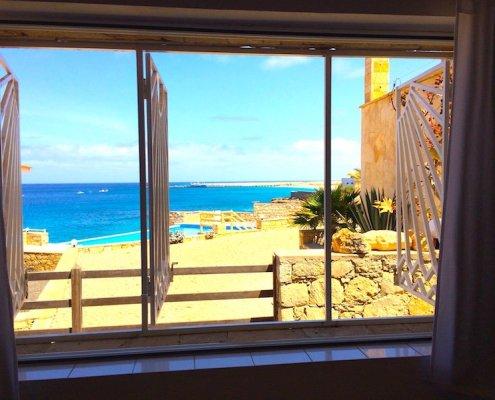 Stella Maris villa master bedroom view