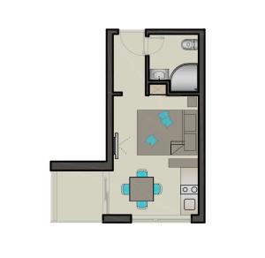 Apartment for 2 Makarska Villa Makarana