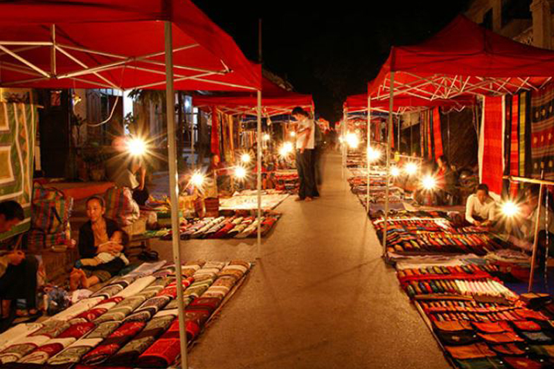 Must-see of Luang Prabang - Night Market