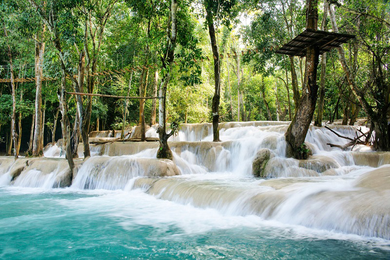 Must-see of Luang Prabang - Tad Sae waterfalls