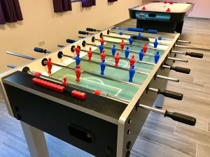 foosball or table soccer - goal!
