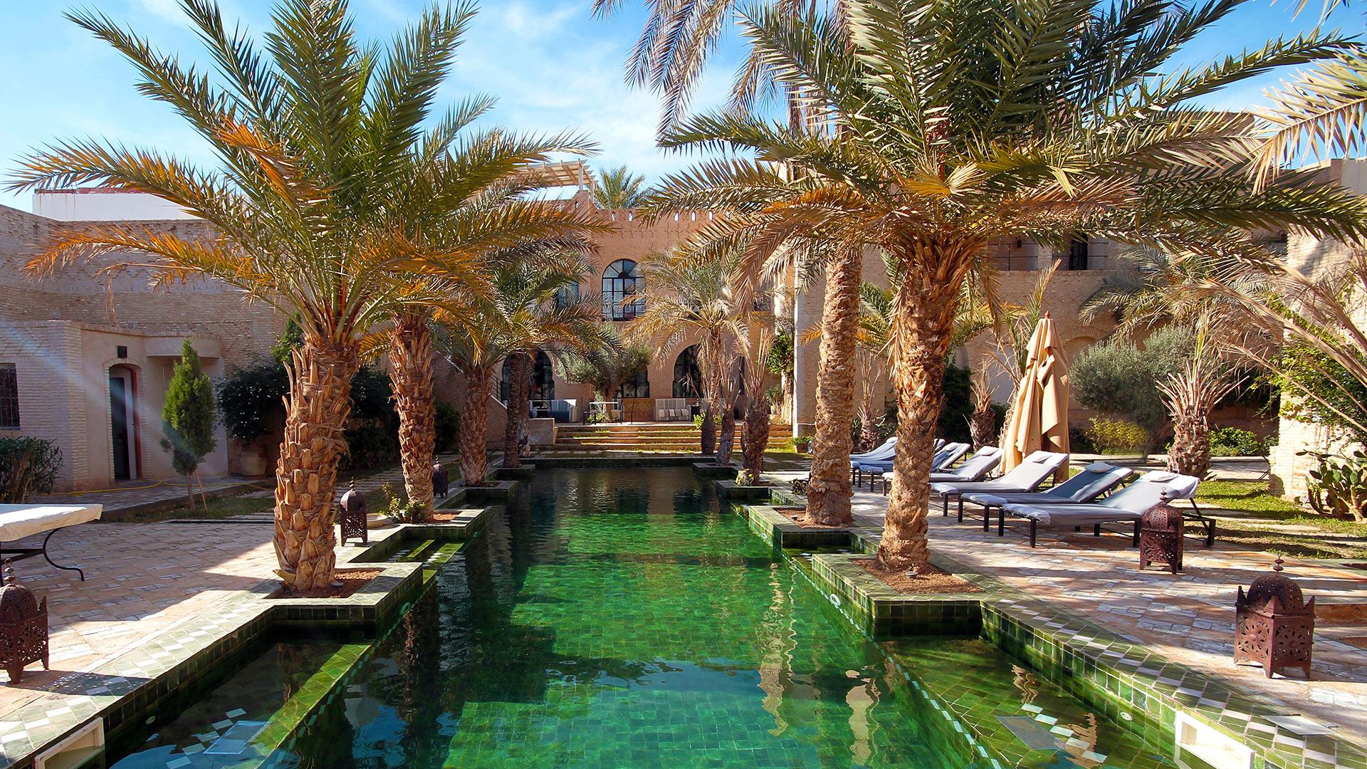 Photos De La Villa Dar Tozeur Sud De La Tunisie Villanovo