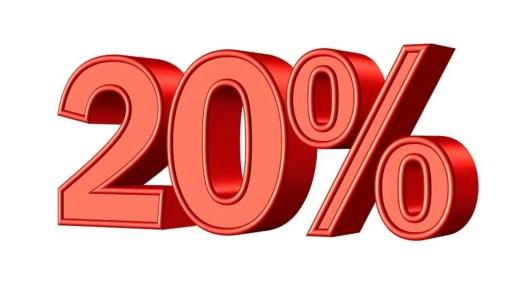 Offertissima Covid con il 20% di Sconto