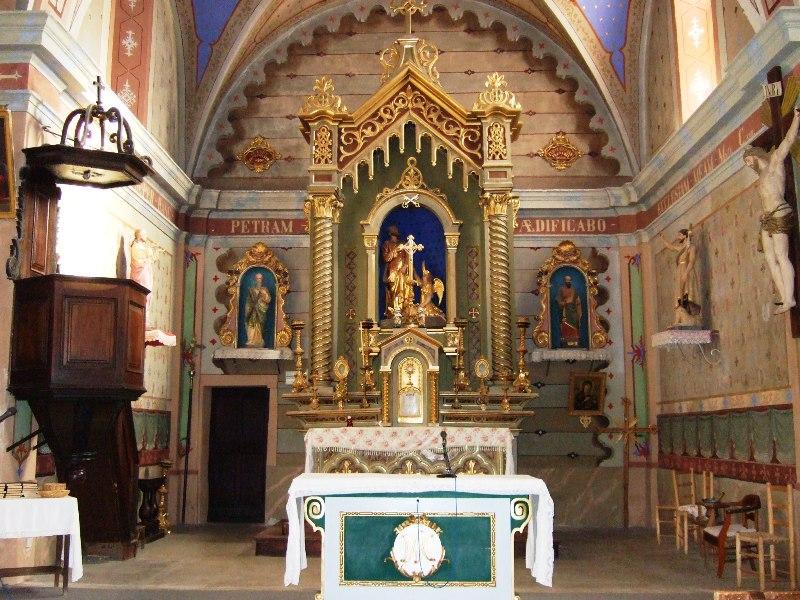 Autel - Eglise St Pierre aux Liens