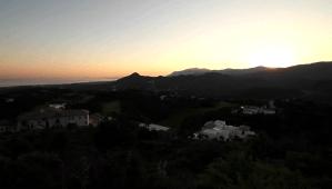 evening shot of zagaleta