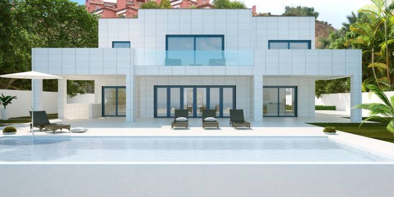 Brand New Villa for Sale Benahavis - 3,850,000 euros