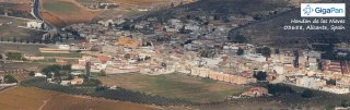 Great view of Hondon de las Nieves