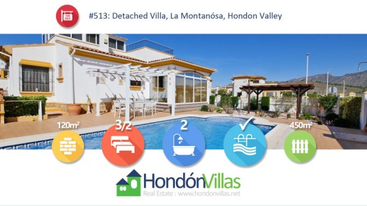 #513 Property for Sale in Hondon Valley