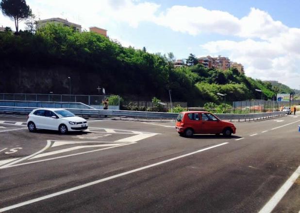 Dopo 20 anni il ponte di Villa Spada e realta aperto con viabilita provvisoria 2