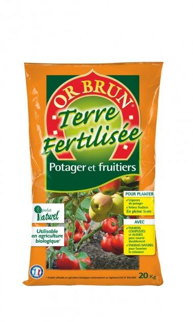 potager et fruitiers 20 kg