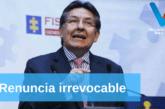 Renuncia el Fiscal General de la Nación por decisión de la JEP